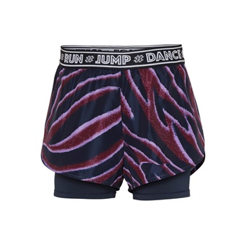 Omari Zebra Stripes Sport Shorts