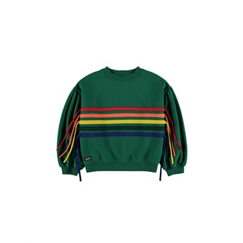 Rainbow Slouch Sweat