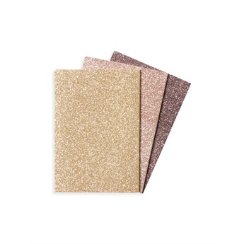 Oh My Glitter Notebooks - Gold