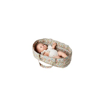 Doll Bassinet Cotton Fleurs En Liane