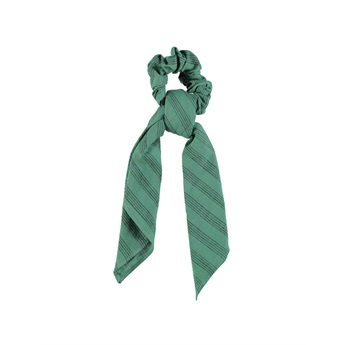 Elastic Hair Band Emerald Stripes