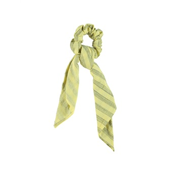 Elastic Hair Band Yellow Stripes