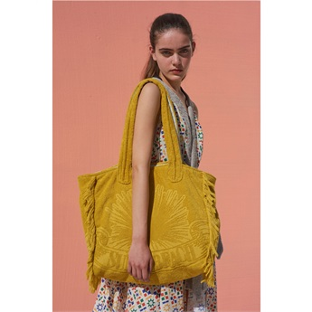 Terry Tote Beach Bag - Just Curry