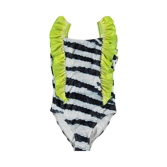 Nathalie Swimsuit Zebra Fish