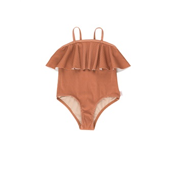 Waves Straps Swimsuit Cinnamon